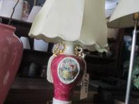 LAMPS AND SHADES  A VERY NICE ASSORTMENT OF STYLES AND