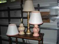 Several different lamps for sale. $5.00 each or best