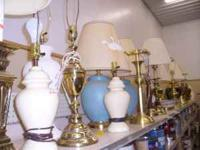 We have an assortment of lamps for sale. Joplin Area