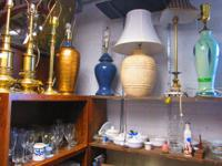 LAMPS!  LAMPS!  AND MORE LAMPS!!  SEVERAL STYLE'S AND