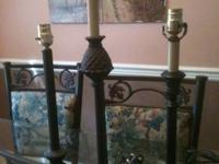 We have an assortment of good quality lamps both small