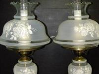 The lamps are from the 50s with the leading world and