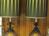 . Pair of large Table Lamps - Excellent condition and