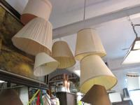 WE HAVE MANY LAMPS, LAMP SHADES AND HANGING LIGHTS!