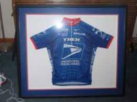 This is a US Postal Jersey from 2002 autographed by