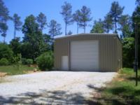 Call Lee @ / 12.9 Acres, Universal Steel Building - 30'
