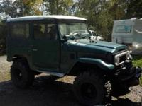 1974 FJ40 Land Cruiser with aluminum tub, 327 small