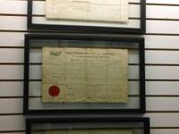These land Grants are wonderful and signed by 3