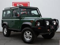 Only 7,835 Miles From New on this 1995 Land Rover