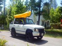 Here is a 2003 Land Rover Discovery Convertible the