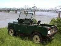 I have decided to sell my 1957 Land Rover Series I.