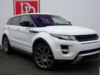 2013 Range Rover Evoque Dynamic Premium in Fuji White