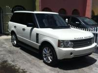 2006 Land Rover Range Rover HSE SUV is powered by a