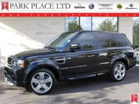 2011 Range Rover Sport HSE in Santorini Black with