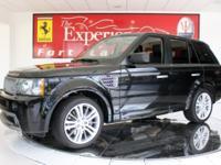 2009 Land Rover Range Rover SportBlack exterior over