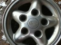 Set of four 16 inch Land Rover wheels 	 DEFENDER,