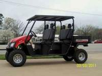 "2011 Landmaster LMC4 ""Crewcab"" 4WD Utility Vehicle with"