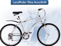 "LandRider ""Auto-Shift"" Bicycles (2) 15"" Female & 17"""