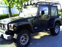 Jeep Wrangler 02 X SportLandrunner ConversionBlack with