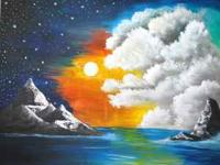 landscape art done by artist kasey white for sale for