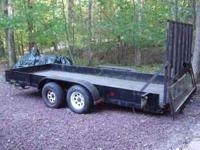 Selling my 2002 Landscape trailer . It is 16 ft and