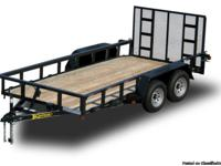 New 2013 7,000 GVWR / 16 ft. Landscape Utility Trailer
