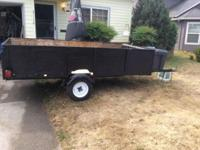 5x10 landscape utility trailer. New Tires Wiring
