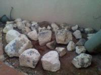 TRUCK LOAD OF SMALL TO MEDIUM/ LARGE BOULDERS BOULDERS