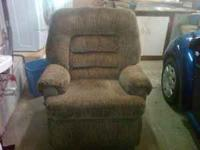 Large recliner about 1-1/2 years old in excellent