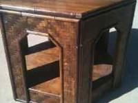 Very nice quality coffee table. Check out detail on