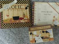 """Home is in the Kitchen"" Lang Recipe Card Box, Album,"