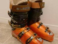 Lange Super Blaster Ski Boots for sale. Standard wear