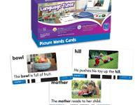 Language TutorTM & Card Sets-Picture Words. Get lots