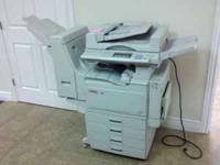 Lanier 5235 copier/fax for sale. This has been used in
