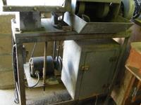 This listing is for one lapidary saw and grinding