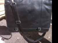 Used leather laptop bag in great condition .For more