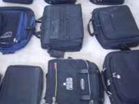 I have several laptop bags for sale. Some of them are