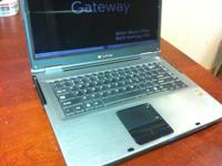 Gateway MT 6451,1.6 amd 64x2 64 bit 2 gb memory 120 gb