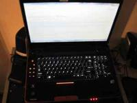 I'm selling a Toshiba Qosmio Laptop (model x505-q830).