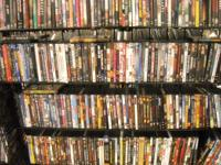Large 200+ Collection of DVDS, $1 Each! Large 200+