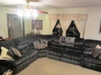 GREAT FOR A LARGE BASEMENT OR FAMILY ROOM! 3 RECLINERS