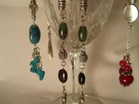 LARGE amount of handcrafted necklaces and earrings.