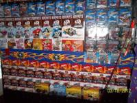 I have all types of collectible hot wheels. treasure