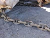 12+ inch anchor chain about 100lbs per link.