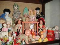 Incredible antique doll collection w/ dolls original