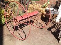 I have an antique fire hose reel with 42' wheels. In