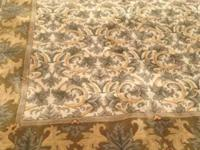 This is a 10 ft x 8 ft area rug that will add beauty to