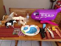 I'm selling 1999 Mattel Barbie Jet and 1960s Barbie
