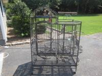 I bought this bird cage new about a year ago for $450.