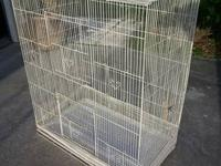 "36"" X 18"" X 30"" very nice bird cage. Could be used for"